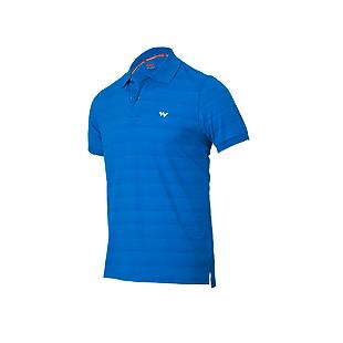 Wildcraft Men Hypacool Polo T Shirt - Blue