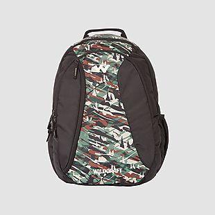 Wildcraft Camo 3 Backpack Bag - Green