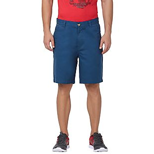 Wildcraft Men Bermuda Shorts - Blue