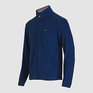 043d51bf0f3 Buy Wildcraft Men Winter Fleece Jacket - Navy Blue Online | Jackets &  Cheaters at Wildcraft