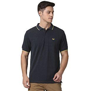 Wildcraft Men Tipping Polo T-Shirt - Dark Grey