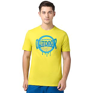 Wildcraft Men Outdoor Culture Crew T-shirt