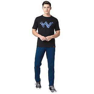 Wildcraft Men Crew T Shirt - Black