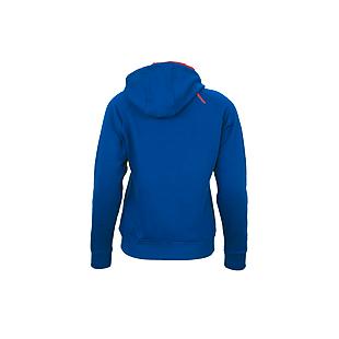 Wildcraft Women Zippered Hooded Sweatshirt - Dark Teal