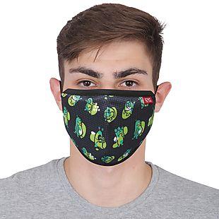 Wildcraft Wiki Champ Mask – Monster Black – Large – Pack of 5