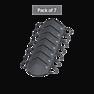 Wildcraft SUPERMASK W95 Plus Reusable Outdoor Respirator - GRINDLE GREY - Pack of 7